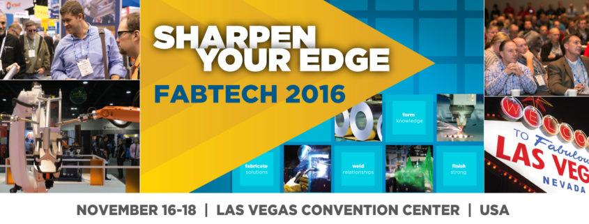 FABTECH Las Vegas 2016